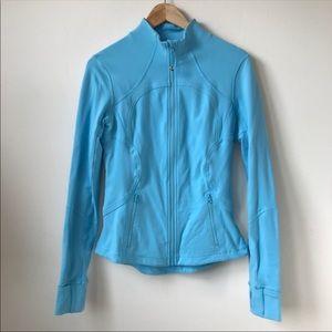 Lululemon Define Jacket in Heathered Angel Blue